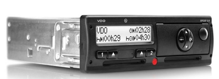 VDO DTCO 3283 с блоком СКЗИ